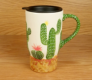 Brea Cactus Travel Mug