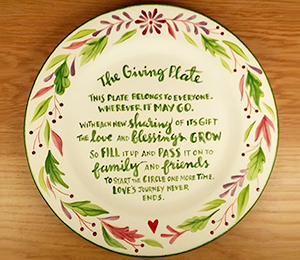 Brea The Giving Plate