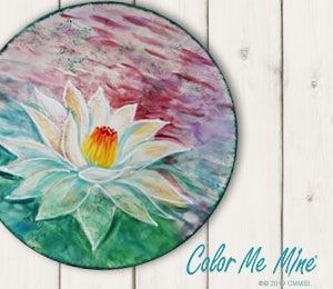 Brea Lotus Flower Plate