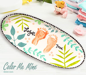 Brea Tropical Baby Tray