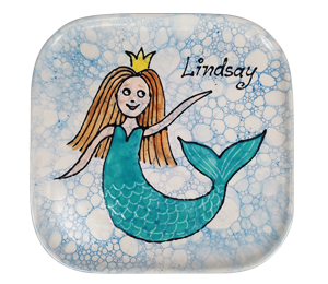 Brea Mermaid Plate
