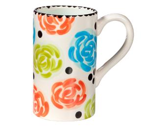 Brea Simple Floral Mug