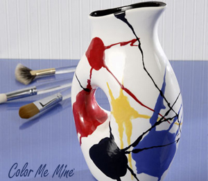 Brea Pop Splatter Pitcher