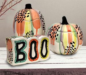 Brea Drippy Pumpkin Box