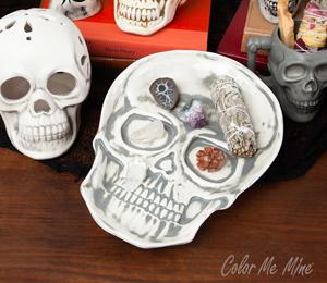 Brea Vintage Skull Plate