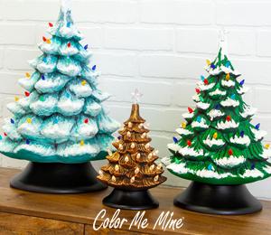 Brea Vintage Christmas Trees